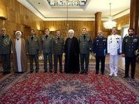 ادامه حمایت دولت از نیرویهای مسلح/ نیروهای مسلح باید در زمان صلح یاریگر دولت باشند