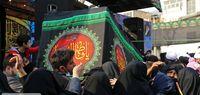 مراسم عزاداری شهادت حضرت فاطمه (س) در تهران +عکس