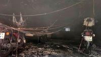 جزییات حادثه آتش سوزی در خیابان سعدی