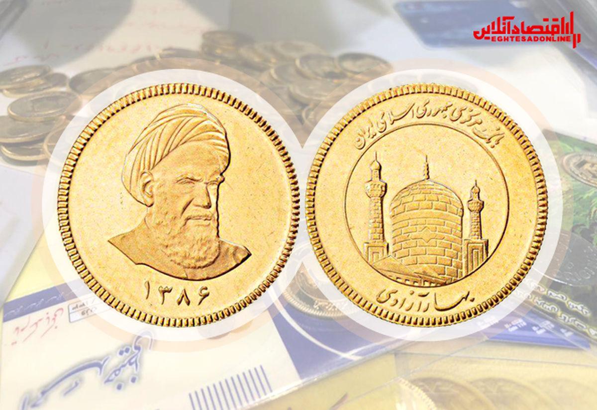 قیمت سکه امروز چند؟ (۱۴۰۰/۱/۲۳)