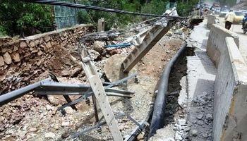 برق 11روستای دره شهر و سیروان همچنان قطع است