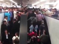 حادثه وحشتناک در متروی مکزیک +فیلم