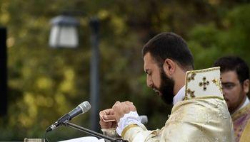 مراسم بزرگداشت صلیب مقدس در ورزشگاه آرارات +تصاویر