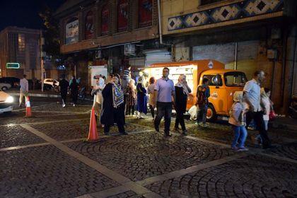 شبهای خیابان ۳۰ تیر +تصاویر