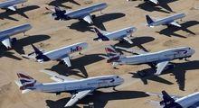 گورستان هواپیماها در آمریکا +تصاویر