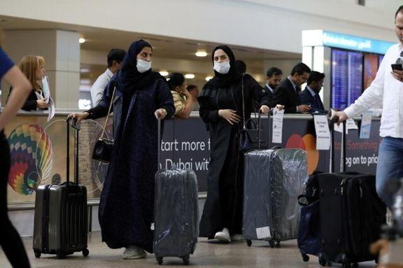 توقف پروازهای امارات به ایران