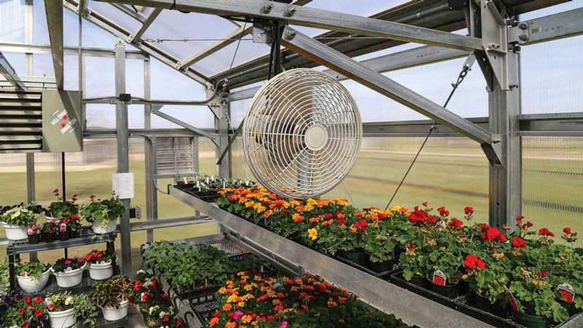 تجهیزات سرمایشی مخصوص گلخانه برای فصل گرم