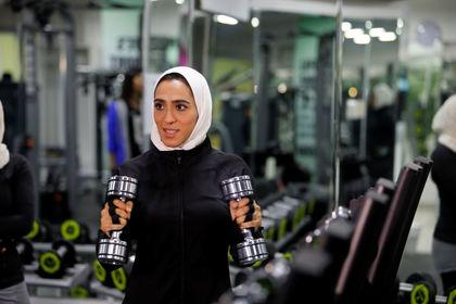 سالنهای بدنسازی زنان در عربستان +تصاویر