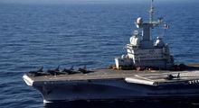 بزرگترین ناو هواپیمابر ارتش فرانسه +تصاویر