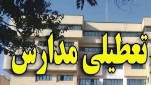 مدارس و دانشگاههای خراسانجنوبی تا پایان هفته تعطیل شد