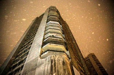 بارش برف در تهران +تصاویر
