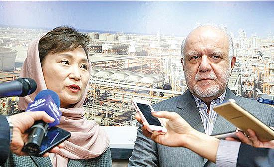 سه پیام دیدار نفتی ایران و کره جنوبی