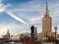 هفت خواهر قد بلند مسکو +تصاویر