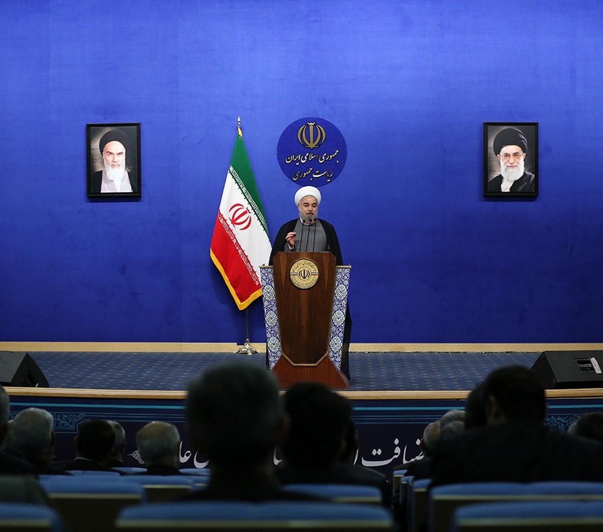 روحانی:گشایشها جای شکرگزاری دارد