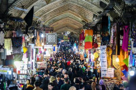 عکس های بازار بزرگ تهران