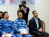 متهمان پرونده البرز ایرانیان پای میز محاکمه +تصاویر