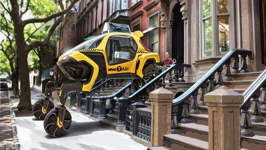 خودروی عنکبوتی هیوندای در نمایشگاه سیایاس۲۰۱۹ +تصاویر